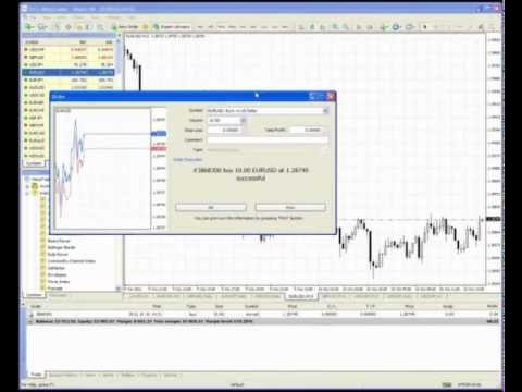 Video thumbnail for youtube video Introduction to MT4 - What is Forex | How To Trade FOREX