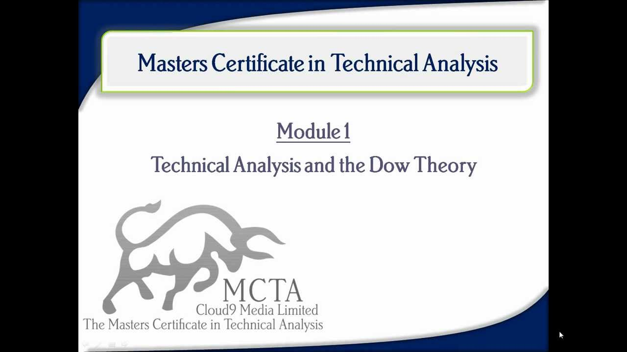 Technical Analysis and Dow Theory