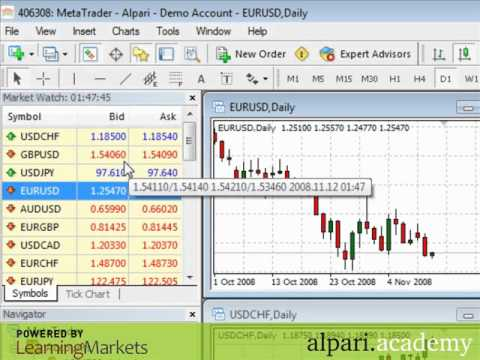 Video thumbnail for youtube video MetaTrader 4 Tips and Tricks - What is Forex | How To Trade FOREX